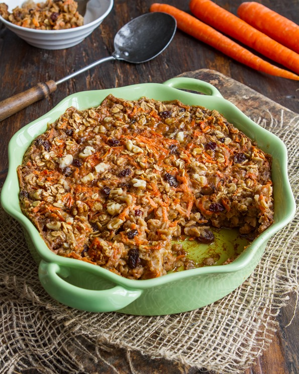 IMG 1108   Heavenly Carrot Cake Baked Oatmeal