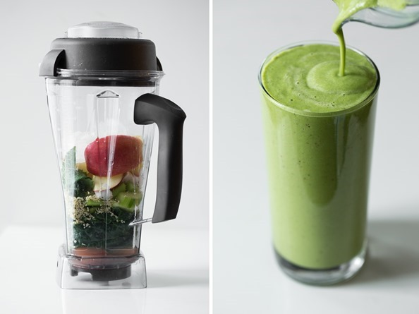 greenmonstersmoothie   Green Warrior Protein Smoothie