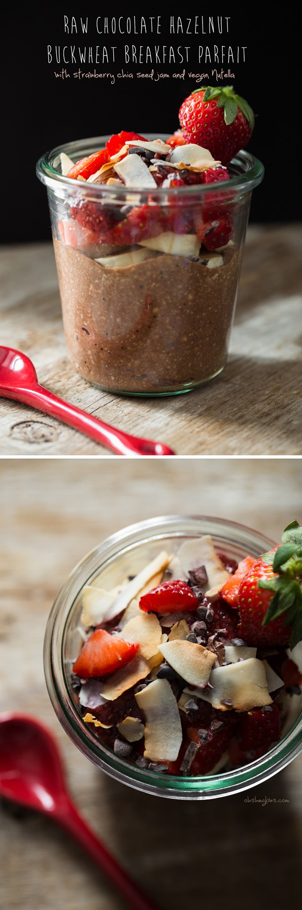 rawchocolatebuckwheatporridgeparfait   Raw Chocolate Hazelnut Breakfast Parfait + Book News