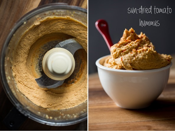 sundriedtomatohummus   Exciting News! Plus, The Nourish + Glow Miracle Bowl
