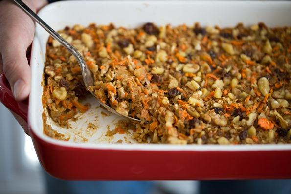 vegancarrotcakebakedoatmeal 6268   Heavenly Carrot Cake Baked Oatmeal