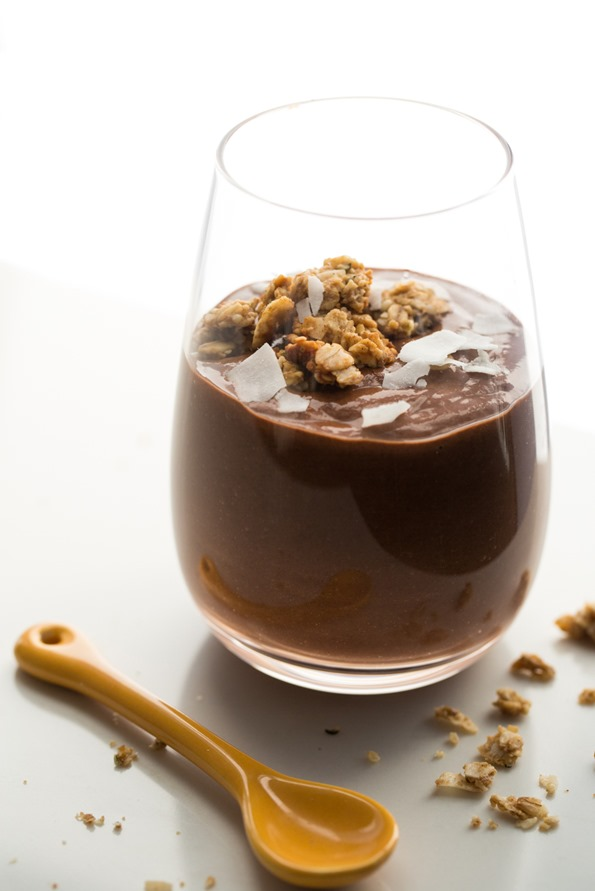 veganchiachocolatepudding 7050   {Almost} Instant Chocolate Chia Pudding