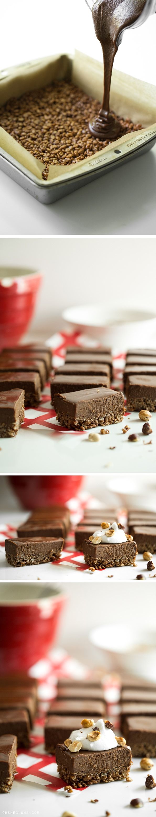 DoubleChocolateCrispyFrozenDessertBars   Double Chocolate Crispy Frozen Dessert Bars (Vegan, GF, No bake)