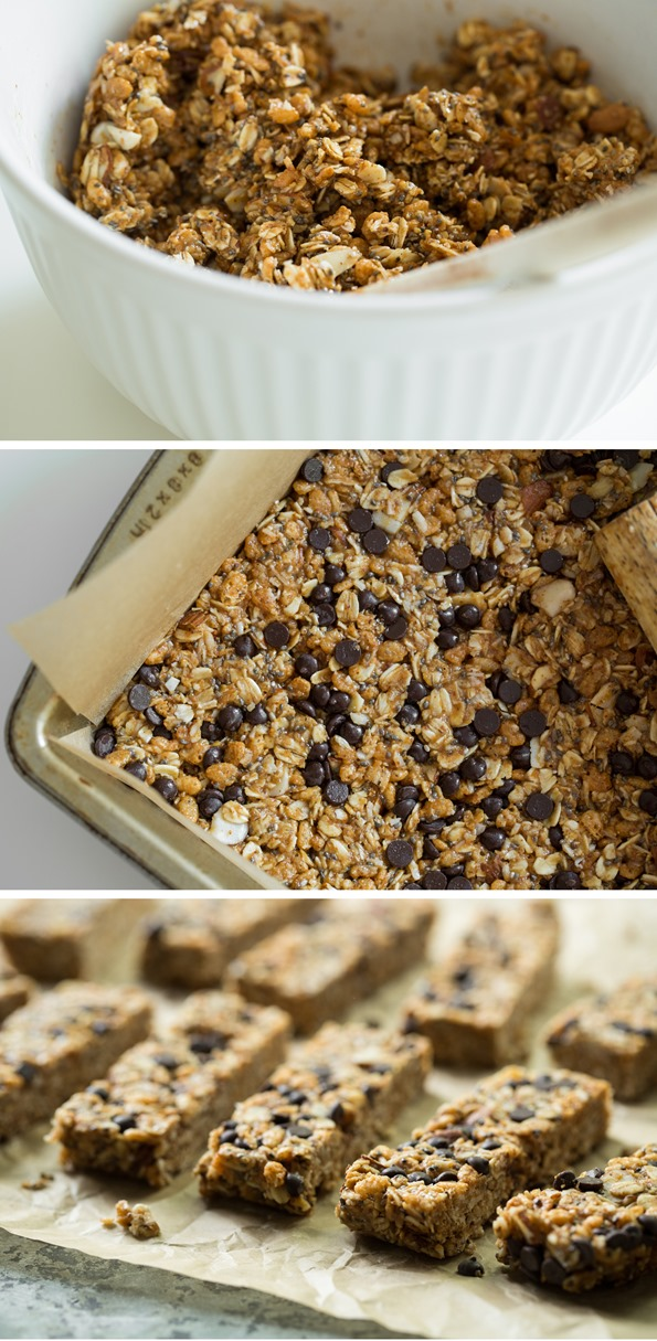 granolabarrecipe   No Bake Almond Joy Granola Bars
