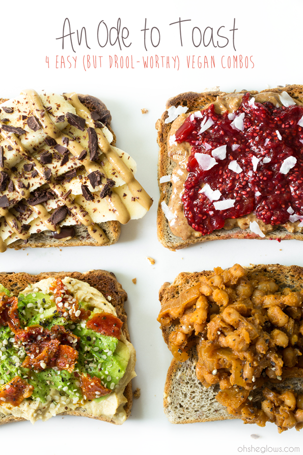 4toastrecipesvegan 9079   An Ode To Toast: 4 Easy (But Drool Worthy) Vegan Combos
