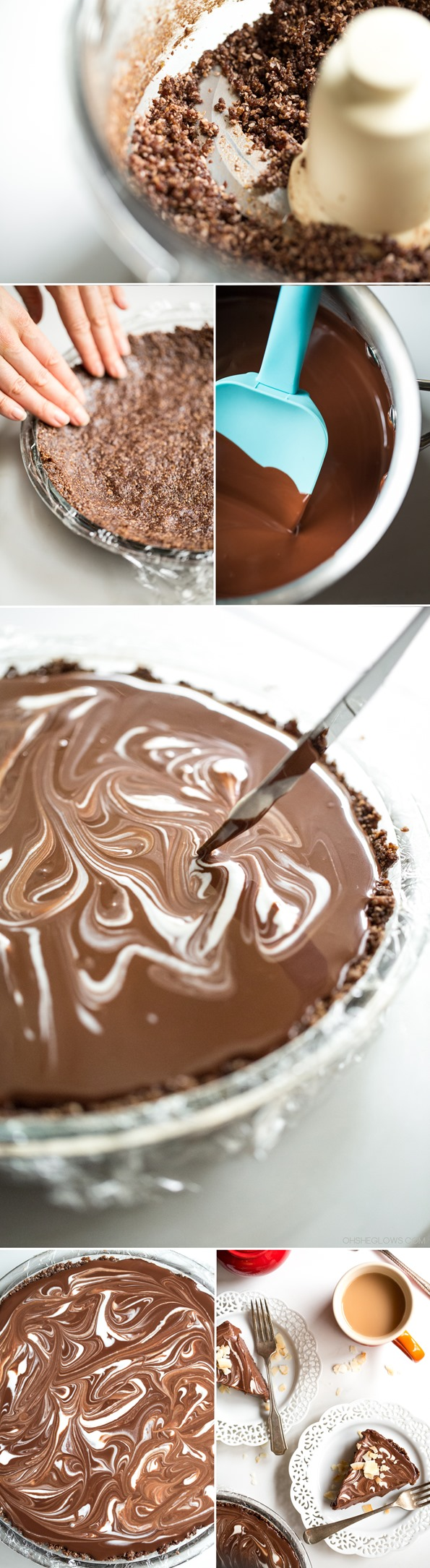 ... double chocolate tart recipes dishmaps double chocolate tart recipes