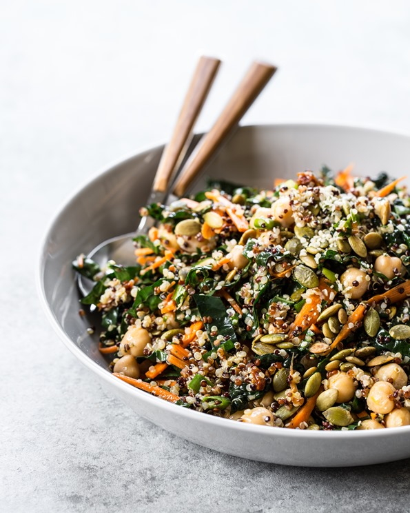 protein power quinoa